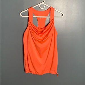 Gap Fit orange workout tank